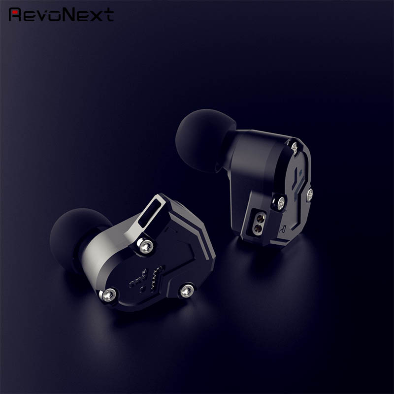 RevoNext quad best triple driver earphones manufacturer for relaxing-1