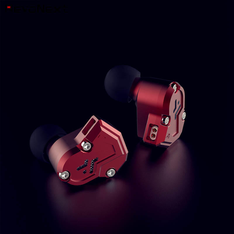 RevoNext quad sports earphones directly price for music