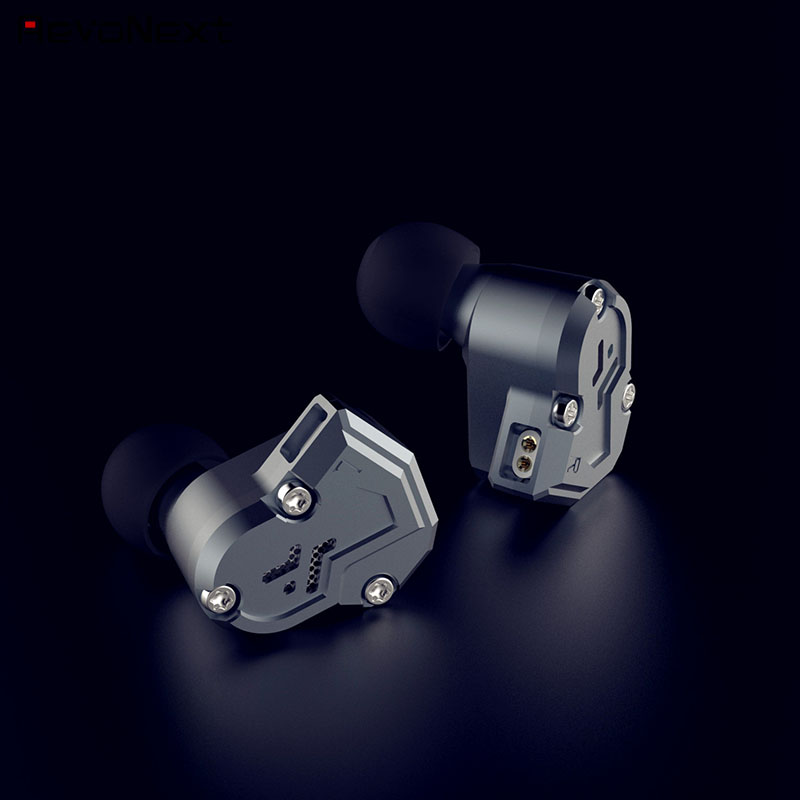 RevoNext quad best triple driver earphones manufacturer for relaxing-3