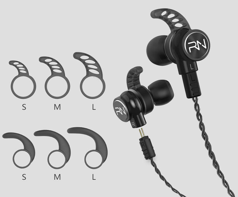 comfortable wear quad driver earphones qt3s earbuds for music-8