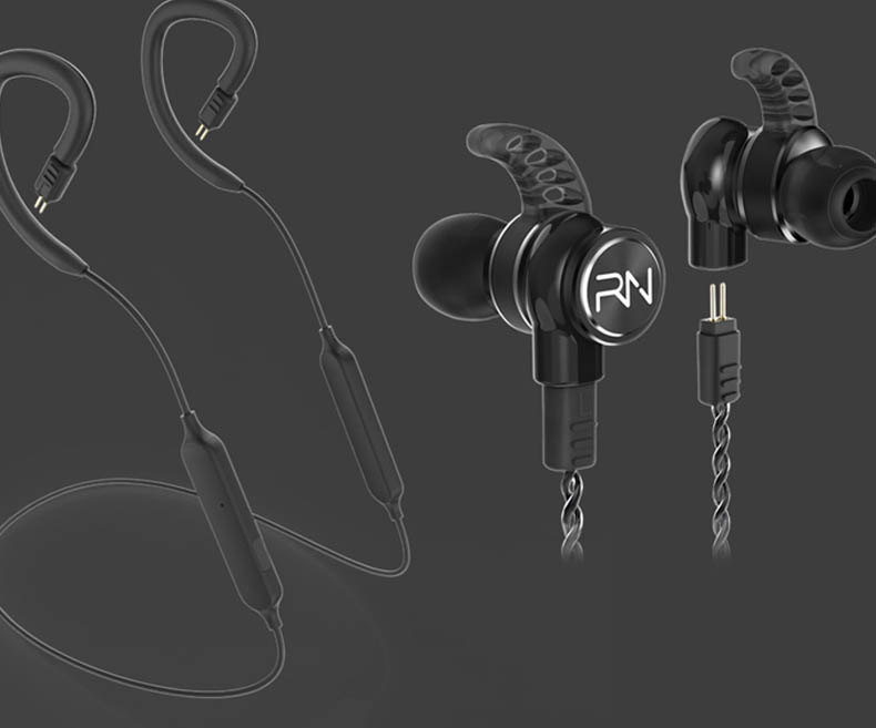 RevoNext stable dual drivers earphones bulk buy for jogging-9