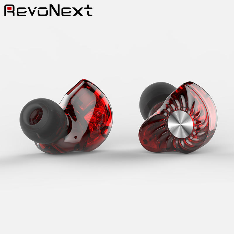 dual earphones triple RevoNext Brand top ten in ear headphones factory