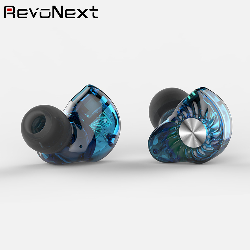 quad best rated in ear headphones earbuds for school RevoNext-4