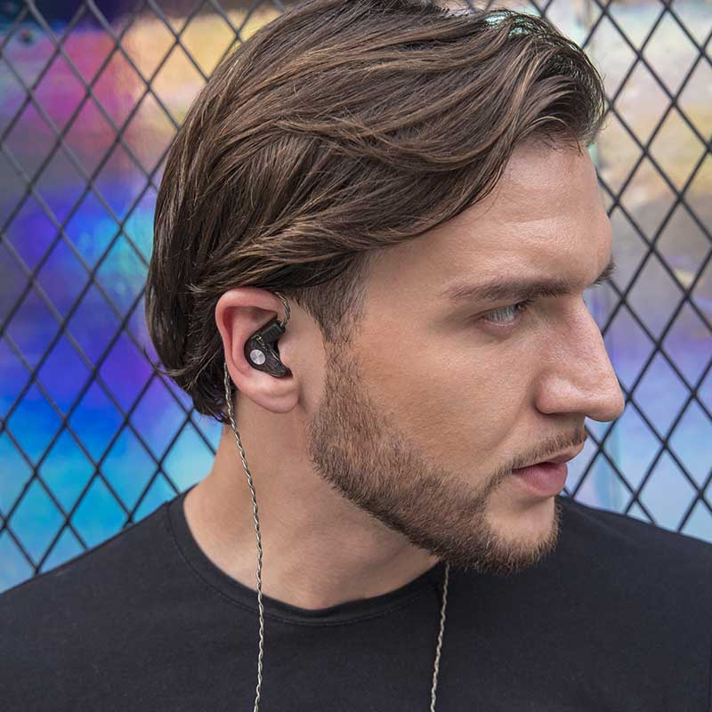 quad best rated in ear headphones earbuds for school RevoNext-18