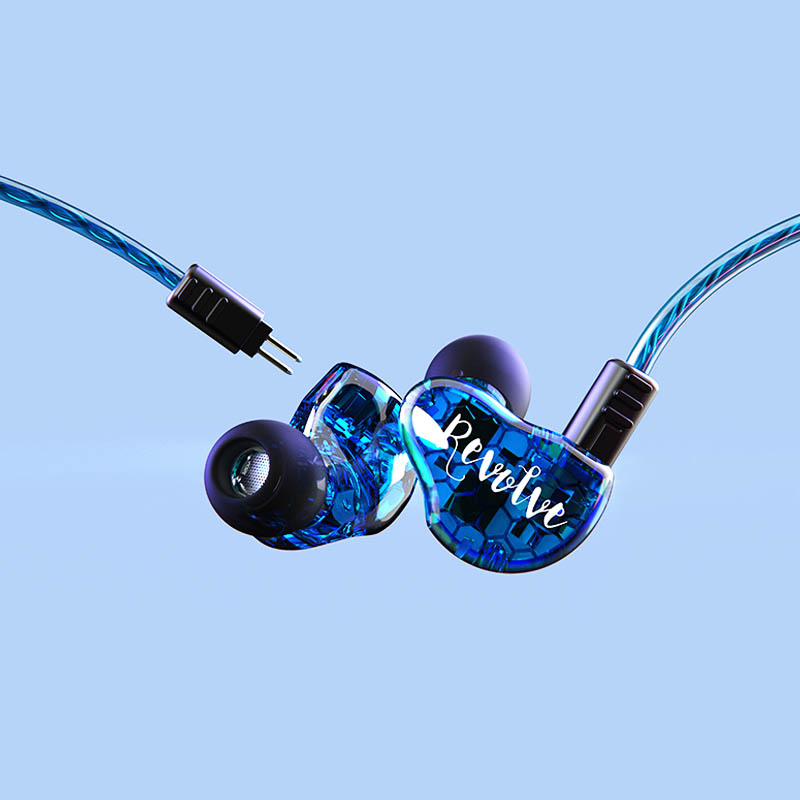 RevoNext dual high quality earphones earbuds for home-15