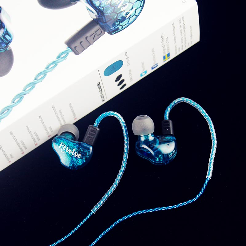RevoNext dual high quality earphones earbuds for home-17