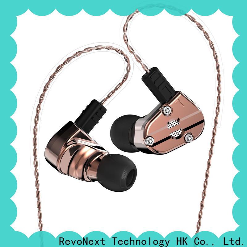 RevoNext quad good quality in ear headphones wholesale for school