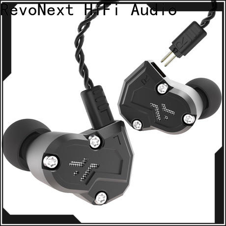 RevoNext qt3s best in ear headphones with detachable cable suppliers for promotion