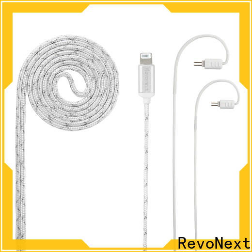 RevoNext latest high quality headphone cable from China for earphone