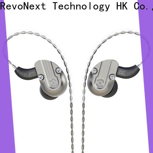 RevoNext best dual driver headphones directly sale for jogging