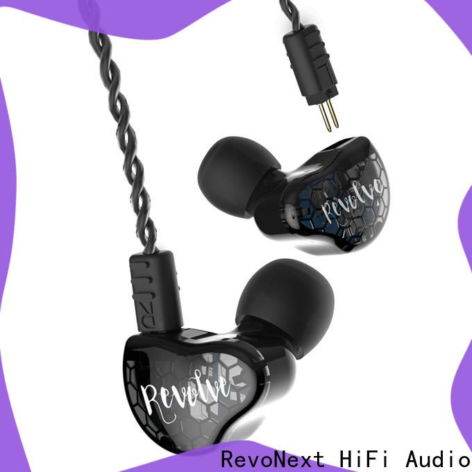 customized best noise isolating in ear headphones qt3s suppliers for gym centre