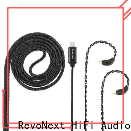 RevoNext revonext earbud cable directly sale for promotion