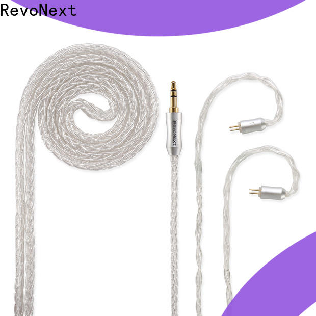 RevoNext plated quality headphone cable wholesale for hifi