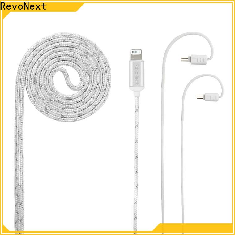 RevoNext cheap lightning cable headphones factory bulk buy