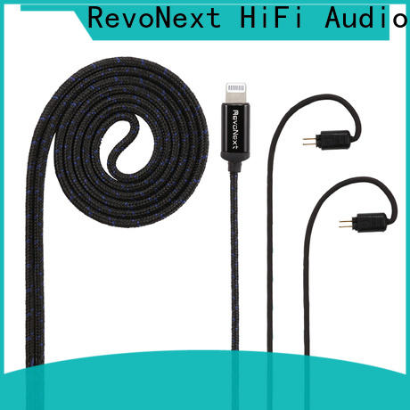 RevoNext customized headphone cable with microphone manufacturer for earbuds