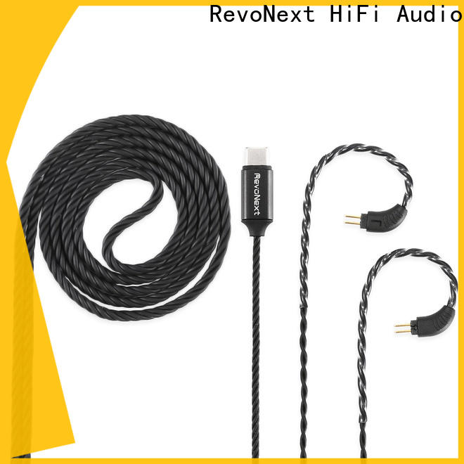 RevoNext case headphone cable with microphone factory direct supply for earbuds