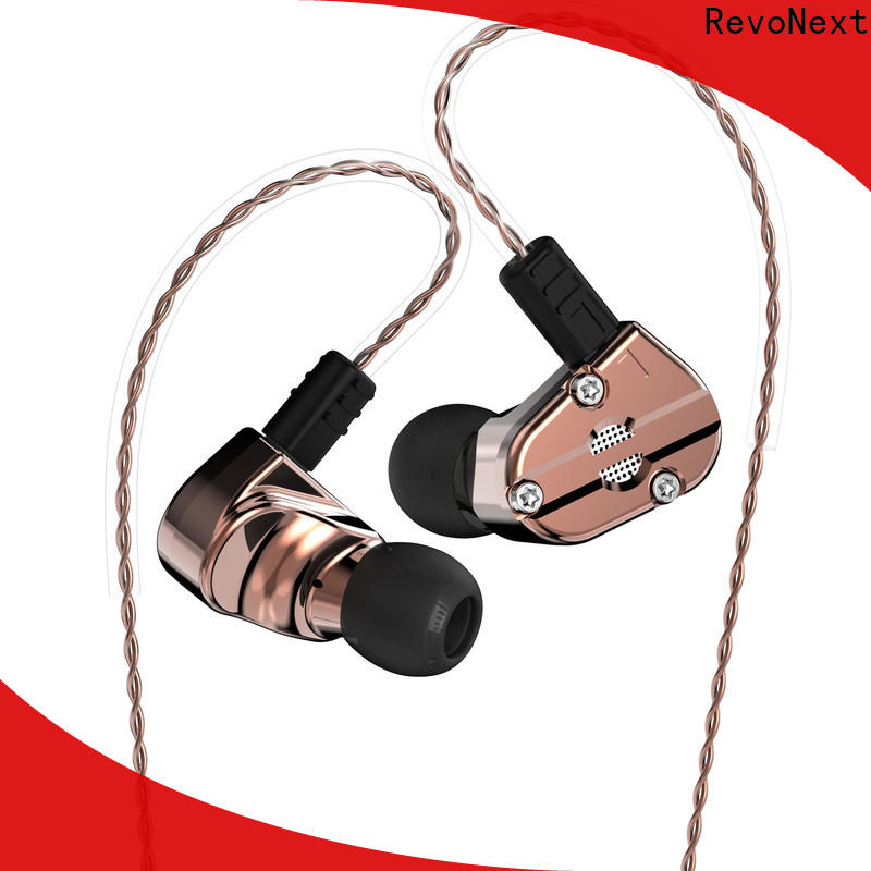 RevoNext earphones best budget dual driver earphones supplier for relaxing
