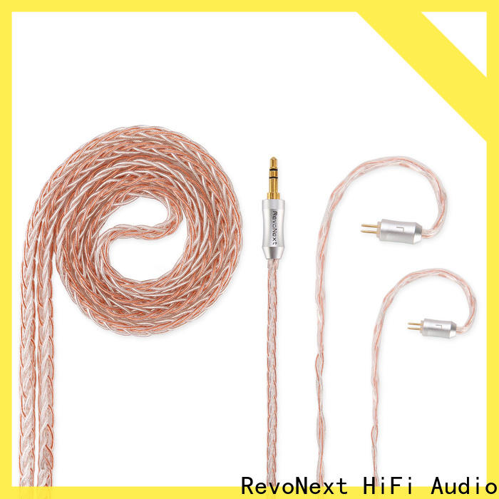 RevoNext best value dual headphone cable suppliers for audio