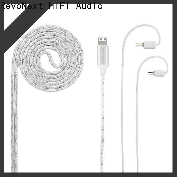 RevoNext best headphone cable company for audio
