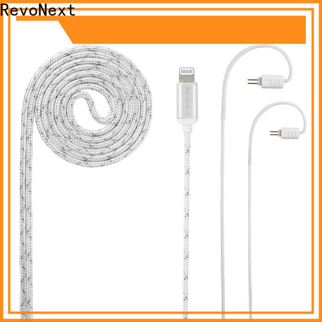 durable headphone cable with microphone supply for promotion