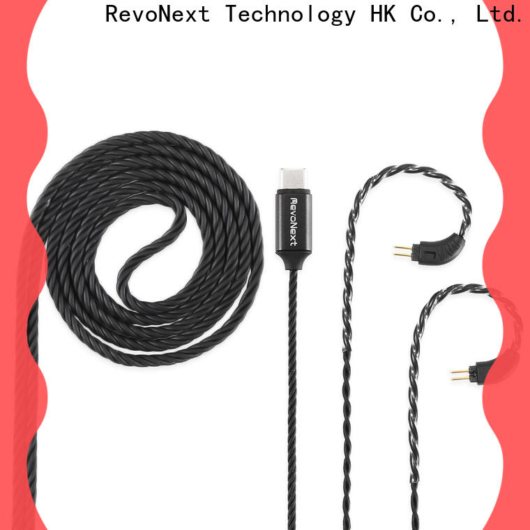 RevoNext plated bluetooth headphones cable from China for audio