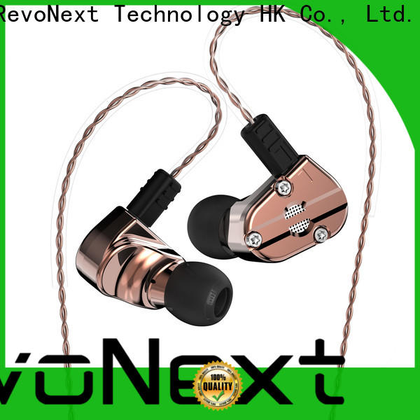 RevoNext best price dual driver in ear headphones factory direct supply for jogging