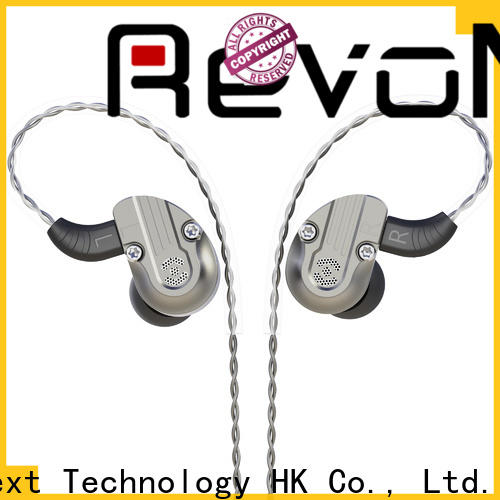 RevoNext latest dual drivers earphones manufacturer for relaxing