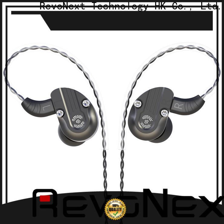 RevoNext top quality best dual driver earphones best supplier for music