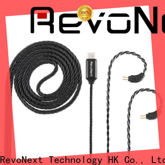 RevoNext hot-sale dual headphone cable bulk buy for earbuds