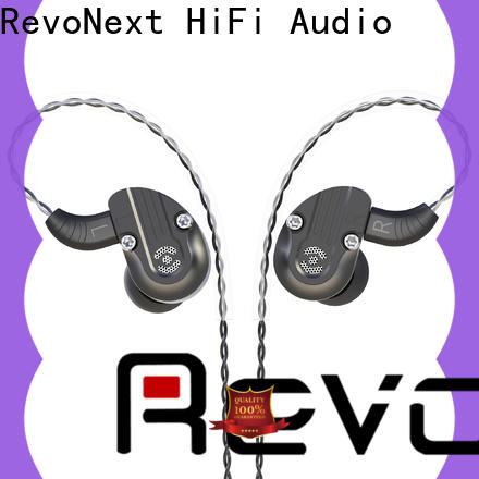 RevoNext reliable dual driver in ear headphones manufacturer for school