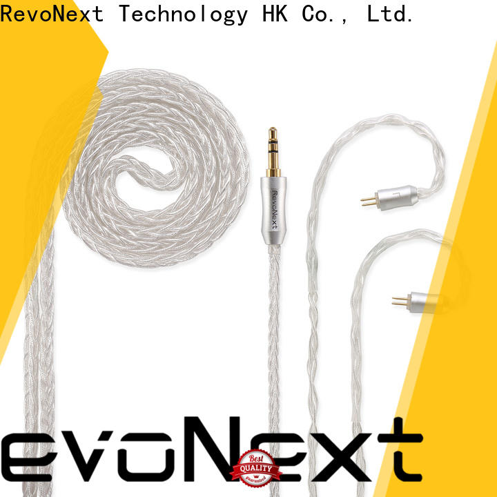 RevoNext earbud in ear headphones removable cable from China for earbuds