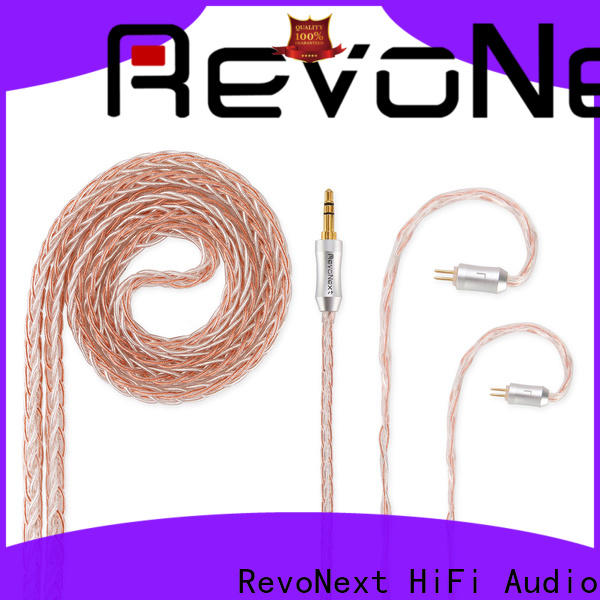 RevoNext best earphone cable factory direct supply for headphone