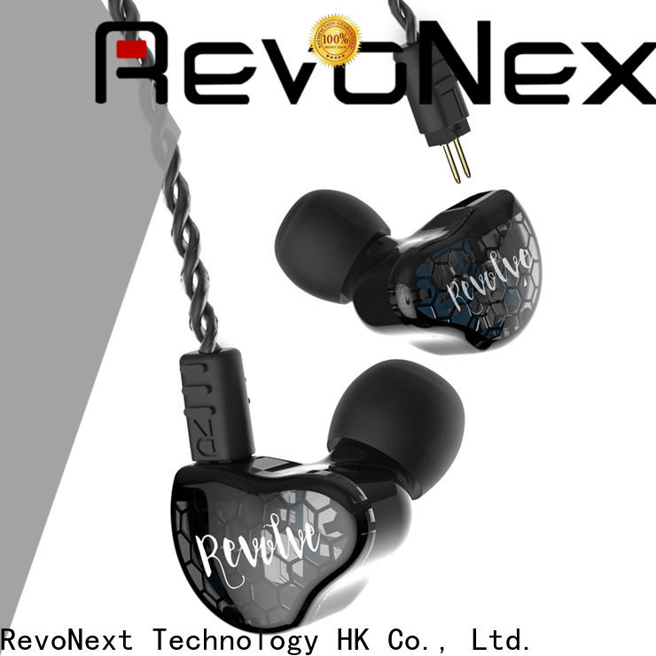 RevoNext hot-sale best in ear headphones with detachable cable with good price for jogging