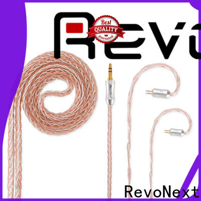 RevoNext latest headphone cable with microphone supplier for headphone