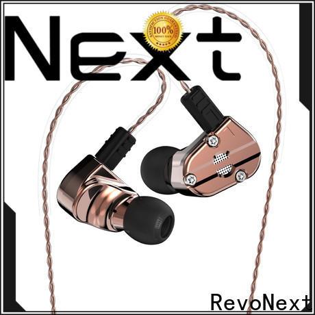 RevoNext earphones best in ear headphones with mic manufacturer for firness room