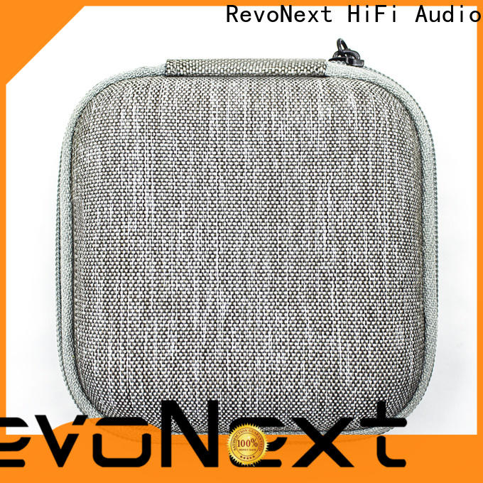 RevoNext hot-sale leather headphone case factory for earbuds