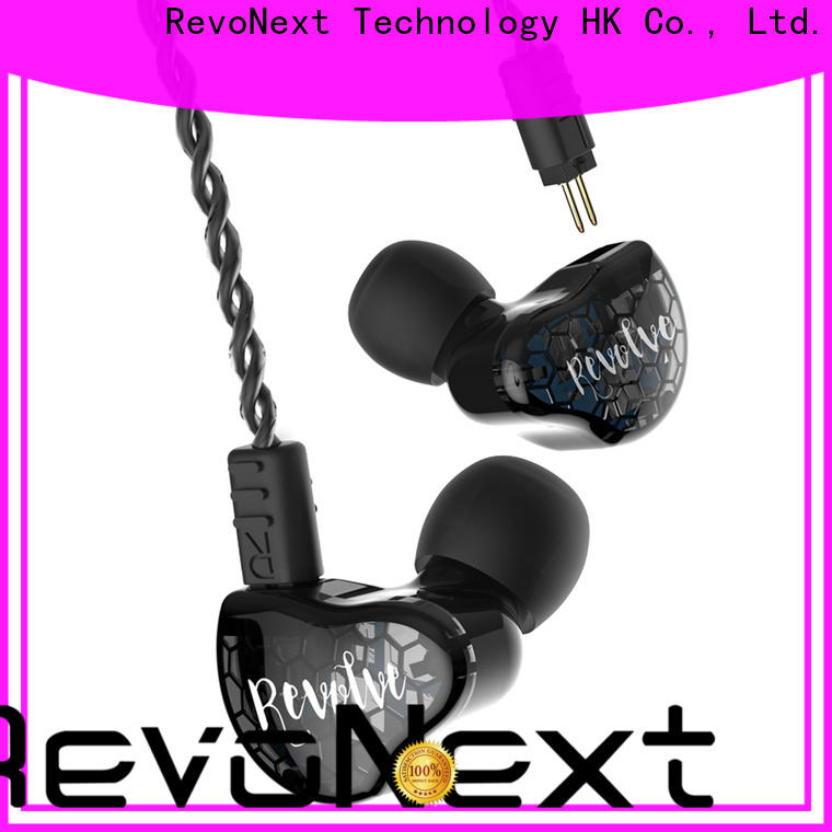RevoNext drivers earphones with dual driver factory bulk buy