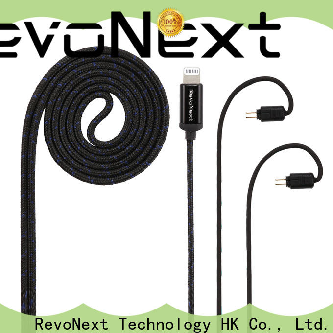 RevoNext low-cost good headphone cable with good price for promotion