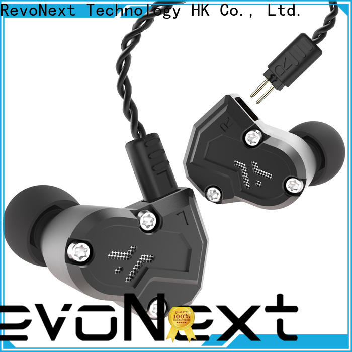 RevoNext quad best triple driver earphones manufacturer for relaxing