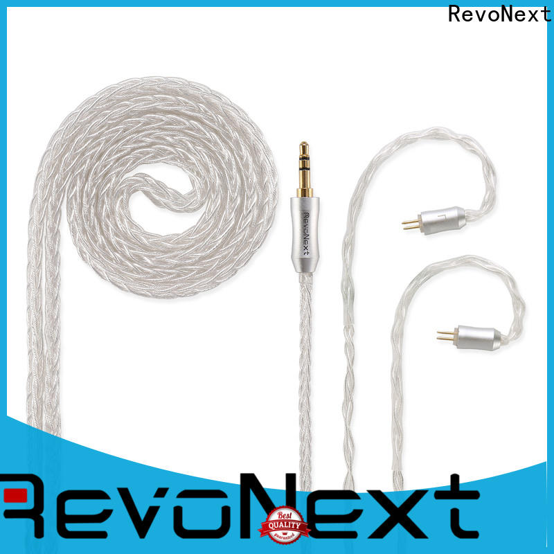 RevoNext silicone bluetooth headphones cable company for earphone