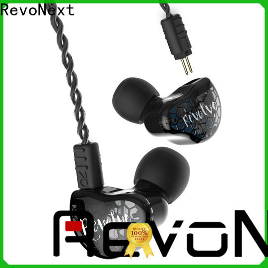 RevoNext headphone dual drivers earphones series for firness room