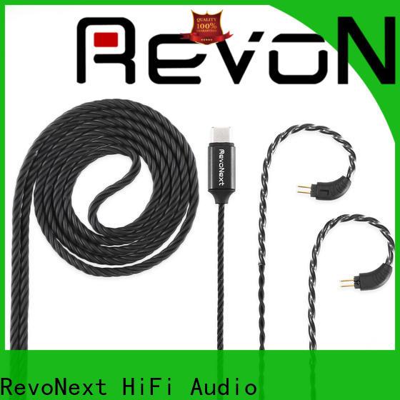 RevoNext customized good headphone cable series bulk buy