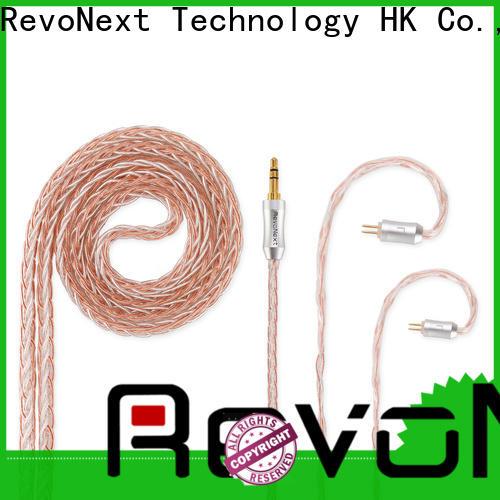 RevoNext earbud cable best manufacturer bulk production