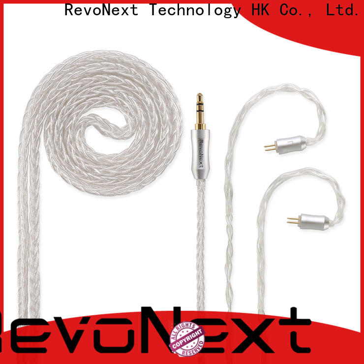 RevoNext hot-sale bulk headphone cable from China for hifi