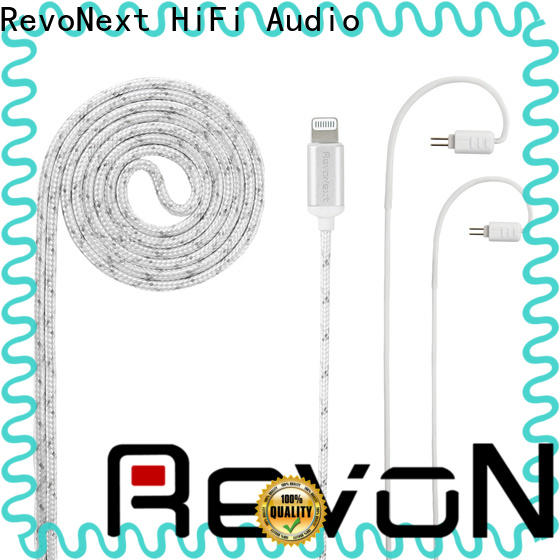 RevoNext best price in ear headphones removable cable supplier bulk production
