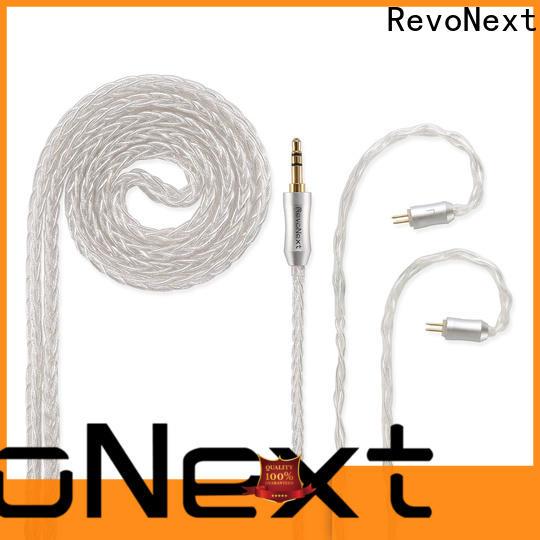 RevoNext cheap earphone cable best supplier for hifi