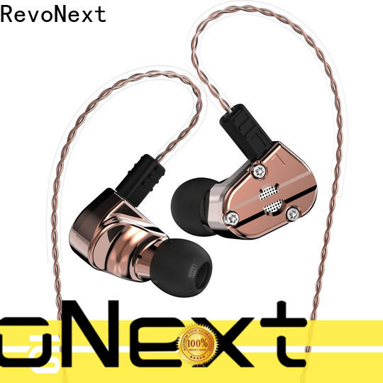 RevoNext triple best quad driver earphones best manufacturer for sale