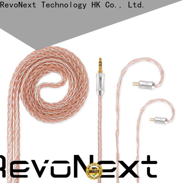 RevoNext popular dual headphone cable inquire now bulk production