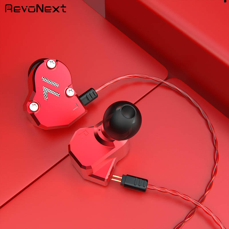 RevoNext customized in ear headphones with mic from China for firness room-2