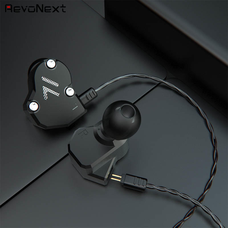 RevoNext customized in ear headphones with mic from China for firness room-1